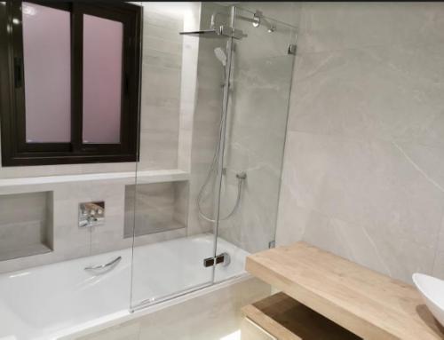 Reforma de baño zona Embajadores (Madrid)